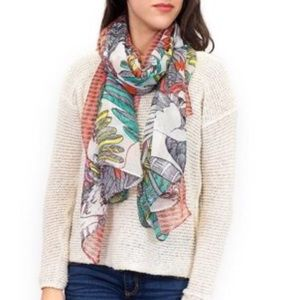 Accessories - Parrot Print Scarf Shawl